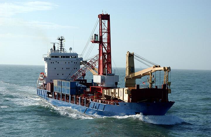 BBC Germany - Ship at Sea