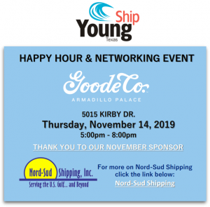 Nord-Sud/Youngship Texas Happy Hour @ Goode Co. Armadillo Palace